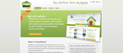 Web design for HouseShout